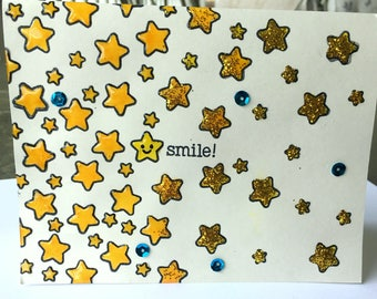 Smile! Encouragement Card