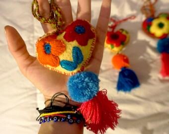 Mexican Handmade Artisanal Keychain