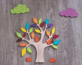 Tree forest wall decor