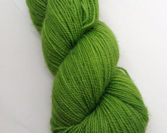 Green Dragon - Hand Dyed Fingering Weight Yarn - Bootheel (400 yards)