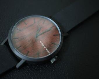 Italian Mens Watch | Wood Watch | Italian Wood Watch | Wooden Watches for Men | Mens Personalised Gift | Groomsmen Gift | Luxe Wood Watch