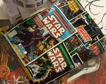 NEW Classic Star Wars comic book reversible book sleeve