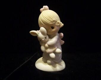 "Precious Moments ""Jesus Loves Me"" Figurine"