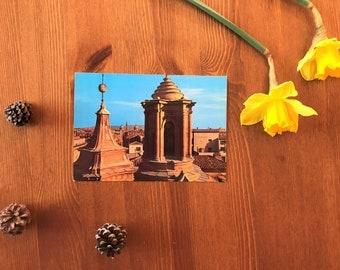 San Carlino Alle Quattro Fontane Postcard from Rome circa 1980s
