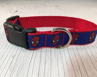 Spiderman Hero Dog Collar