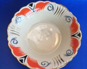 Vintage Bavaria Schwarzenhammer China Serving Bowl Centerpiece