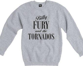 Billy Fury & The Tornados Sweatshirt - Rock 'n 'Roll Icon, 1950's/60's