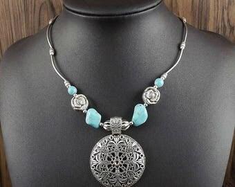 Another beautiful tourquise necklace  PromisesandWhiteLace @gmail.com