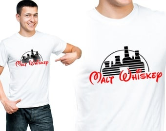 Malt Whiskey, Fun Shirt, T-Shirts, Gift For Him, Gift For Her, Custom Shirt, Heat Transfer Vinyl