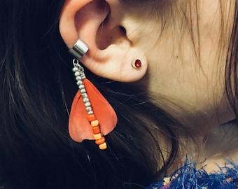 Feather earcuff