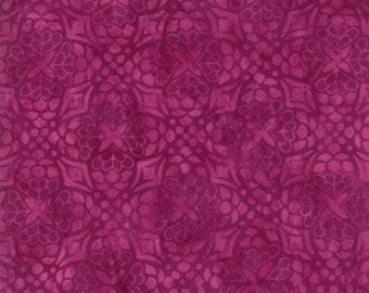 Moda LONGITUDE BATIKS by Kate Spain-magenta (27259 154)-by the YARD