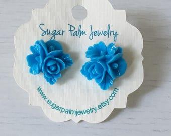 Rose Blossom Earrings
