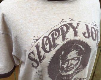 Sloppy Joe's Key West Ringneck Vintage T