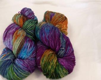 CC17/472 Handdyed Sock Yarn 4ply