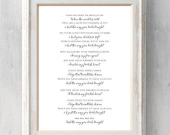 Way you look tonight etsy frank sinatra print the way you look tonight gift song lyrics some stopboris Images