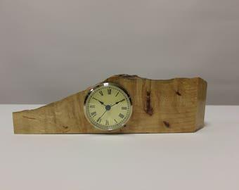 123 Burly Wooden Desk Clock