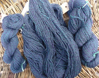 Handspun Merino and Corriedale Yarn for Knitting, Crochet and Crafts