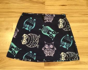 FunHoggin' Fleecewear - Owl Skirt
