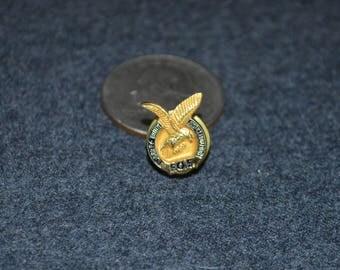 Vintage F.O.E. (Fraternal Order of Eagles) Seal Lapel Pin