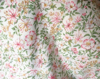 Dorma King Size Duvet Cover, Country Diary Collection, Vintage Floral Bed Linen, Quilt Cover, Country Cottage, Roses, Craft Fabric