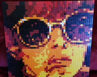 Awesome retro Lego Mosaic