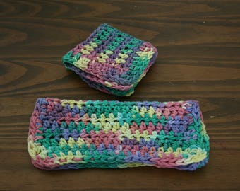 Multicolor Dish Cloth (set of 2)