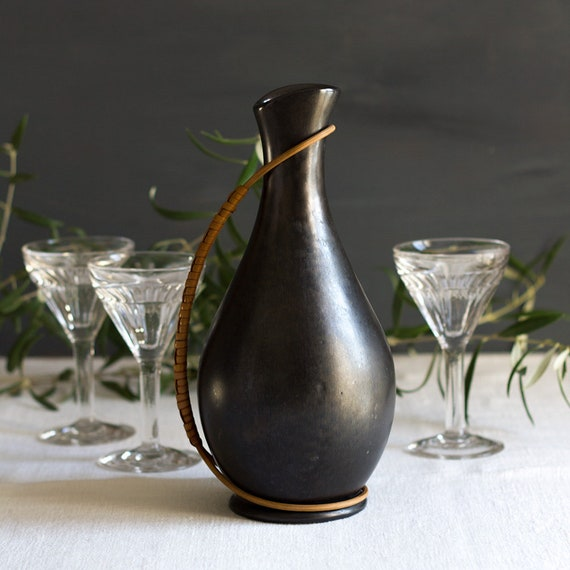 French Midcentury Wine Carafe / Pitcher