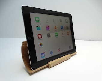 Christmas, stand tablet, tablet gift idea, oak