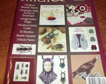 Cross Stitch & Bead Weaving Magazine April 2007 Issue