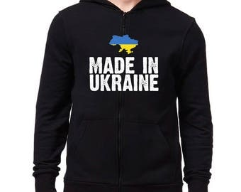 Made in Ukraine Zip Hoodie