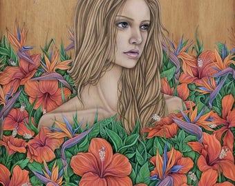 """Original Painting """"Anya"""""""