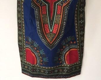 Stunning ethnic skirt in wax