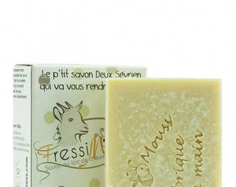 SOAP in cold with organic goat milk (40%) and miel_Nature