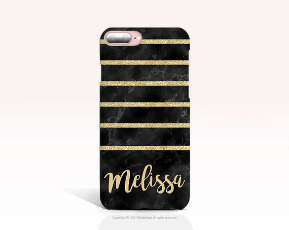 iPhone 8 Case Personalized Glitter Print iPhone 7 Case iPhone X Case Personalized iPhone 8 Plus Case iPhone 6s Case Initial iPhone 6 Case