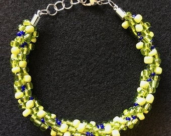Spring Mix Kumihimo Bracelet