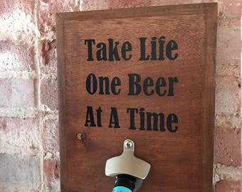 Bottle Opener Sign