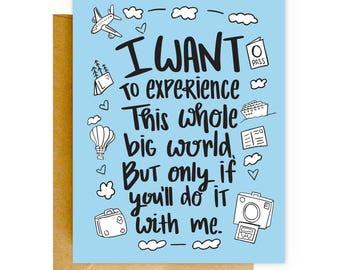 Funny Love Card, Boyfriend Birthday Card, Valentine Card, Card, Anniversary Card, Card for Boyfriend, Card for Him, Cute Cards, Love Card