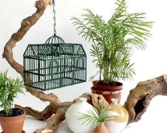 Decorative Metal Birdcage, Hanging Decor