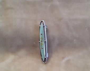 Edwardian /sterling Silver Chamel Pin
