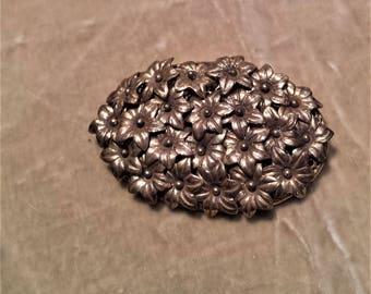 Gold Filled Flower Brooch