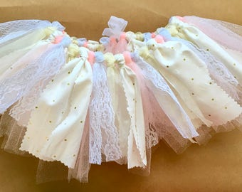 Glitter Tutu for Girls, Baby Girl Tutu, Sparkly Tutu, Tutu Skirt, Newborn Skirt, Fabric Tutu, Easter Tutu for Girls, Toddler Tutu, Tulle