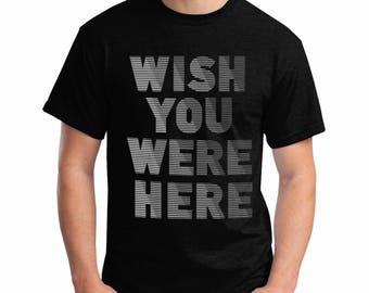 Pink Floyd t-shirt, Wish You Were Here tshirt, Syd Barrett t-shirt, Rock t-shirt, David Gilmour tshirt. Roger Waters tshirt.