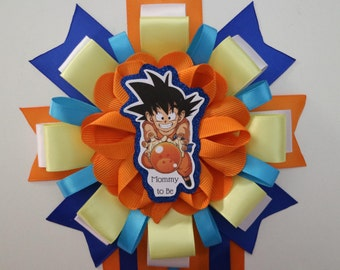 Dragon Ball Z Baby Shower Mommy to be Corsage