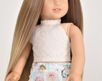 Nude  Halter Top 18 inch doll clothes