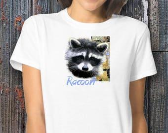 Racoon-T Shirt, NEW DESIGN, Worldwide ship