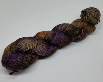 Gypsy Queen - Yak Sock Yarn - Superwash Merino + Yak + Nylon - 70/20/10 - Ready to ship