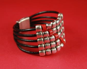 12/3 MADE in EUROPE zamak sliders set, silver beads set, bracelet sliders set  (Ablz185) Qty 1set