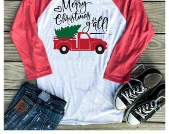 christmas shirt merry christmas yall merry christmas yall shirt shirts for women