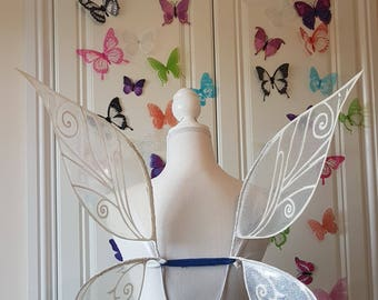 In Stock -  XL Size White Irrdessa Inspired Fairy Wings