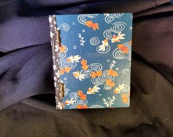 Koi and Sakura Secret Stash Book